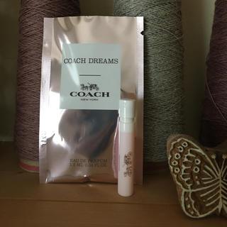 コーチ(COACH)のCOACH 香水 コーチ ドリームス オードパルファム 1.2ml サンプル(香水(女性用))