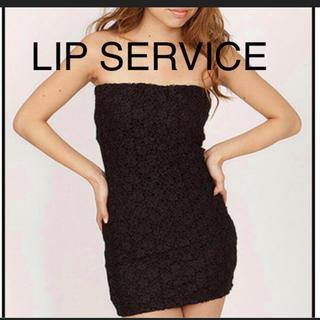 リップサービス(LIP SERVICE)のLIP SERVICE ベアワンピ(ベアトップ/チューブトップ)