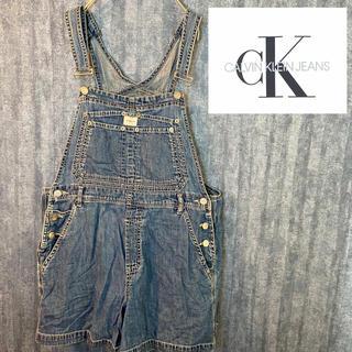 ck Calvin Klein - 美品 90's  古着 オーバーオール サロペット デニム カルバンクライン