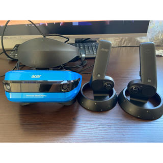 エイサー(Acer)のACER AH101 HMD VR Windows Mixed Reality(PC周辺機器)