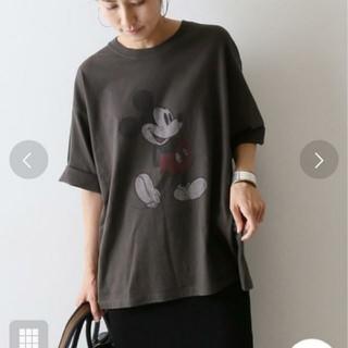 フレームワーク(FRAMeWORK)のnich 様専用  フレームワーク☆ミッキー BIG Tシャツ(Tシャツ(半袖/袖なし))