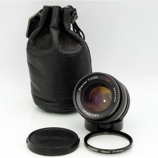 キョウセラ(京セラ)の【まりょん様専用】美品★プラナー 50mm F1.4 Planar(レンズ(単焦点))