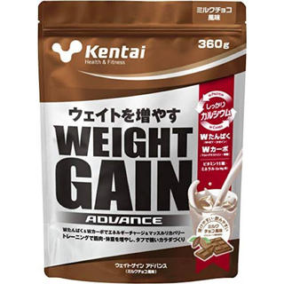 ケンタイ(Kentai)のKentai ウェイトゲイン ミルクチョコ プロテイン(プロテイン)