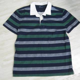 ギャップ(GAP)のGAP 美品 ポロシャツ ボーダー(ポロシャツ)