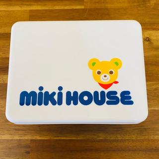 ミキハウス(mikihouse)のボス様専用ミキハウス 組み立て式ランチボックス☆ランチバッグセット(弁当用品)