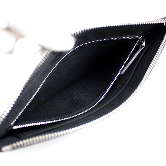FENDI(フェンディ)のFENDI フェンディ メンズ モンスター クラッチ 黒 ブラック メンズのバッグ(セカンドバッグ/クラッチバッグ)の商品写真