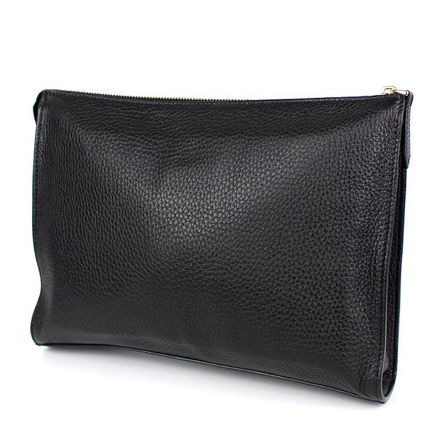 FENDI(フェンディ)のFENDI フェンディ メンズ モンスター クラッチ 黒 ブラック セレリア メンズのバッグ(セカンドバッグ/クラッチバッグ)の商品写真