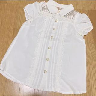 リズリサ(LIZ LISA)のフリルシャツ(シャツ/ブラウス(半袖/袖なし))