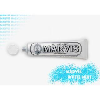 マービス(MARVIS)のMARVIS ホワイトミント 85ml(歯磨き粉)