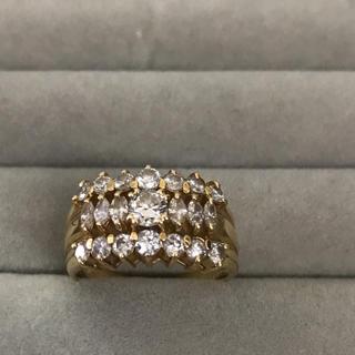 ダイヤモンド1.25ct K18リング 再値下げ!(リング(指輪))