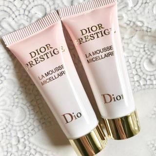 ディオール(Dior)の【お試し20g✦1742円分】プレステージ ラムース クレンジングフォーム 洗顔(洗顔料)