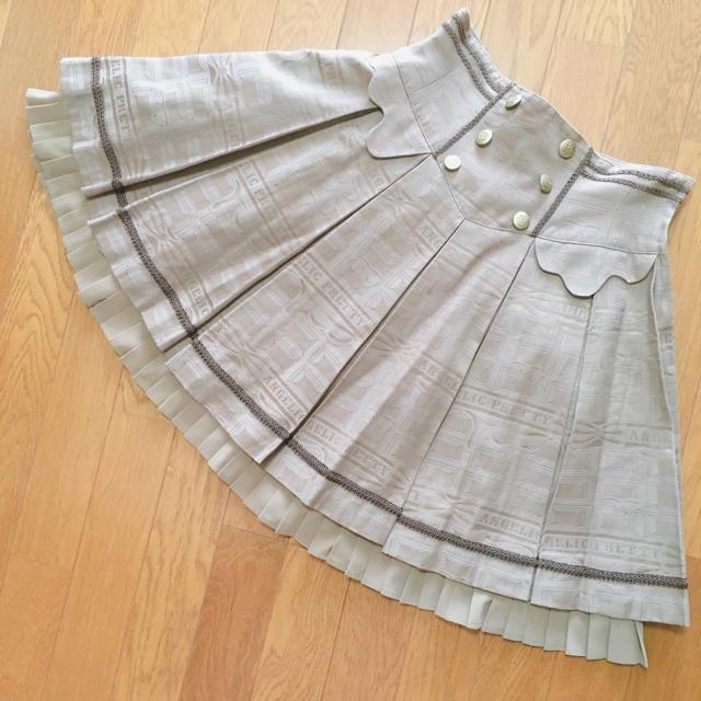 Angelic Pretty(アンジェリックプリティー)のMelty Ribbon Chocolateスカート レディースのスカート(ひざ丈スカート)の商品写真