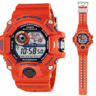 カシオ(CASIO)のRANGEMAN/ G-SHOCK 神戸市消防局タイアップモデルデジタルソーラー(腕時計(デジタル))