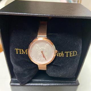 激レアテッドベーカーフレブルボストンテリア風腕時計