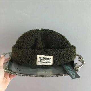 ボボチョース(bobo chose)の⚫︎BOBO CHOSES⚫︎ ワッペン付いたボアの帽子(帽子)