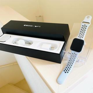 アップルウォッチ(Apple Watch)のAPPLE WATCH4 NIKE+ 44 SVAL PPBK アップルウォッチ(スマートフォン本体)