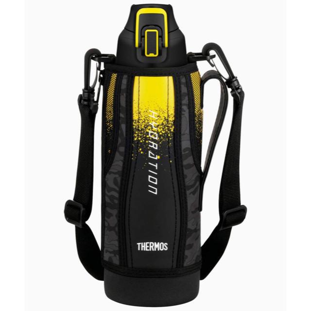 THERMOS(サーモス)の早めに発送! 1.5Lサーモス 水筒 真空断熱スポーツボトル 黒 キッズ/ベビー/マタニティの授乳/お食事用品(水筒)の商品写真