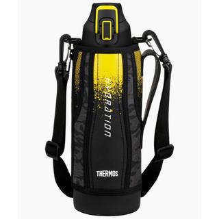 サーモス(THERMOS)の早めに発送! 1.5Lサーモス 水筒 真空断熱スポーツボトル 黒(水筒)