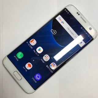 ギャラクシー(Galaxy)のaki953 SIMFREE Galaxy S7 edge SCV33 ジャンク(スマートフォン本体)
