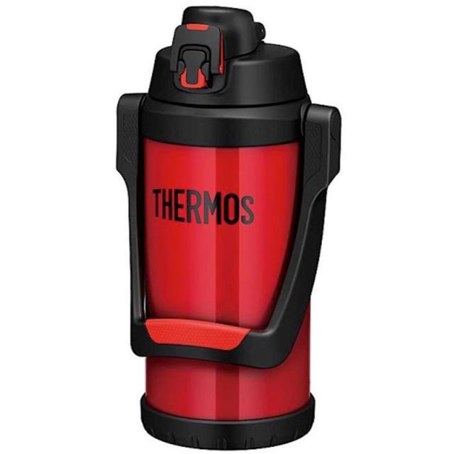 THERMOS(サーモス)の早い者勝ちベストセラー真空断熱スポーツジャグ FFV-2000 ファイアーレッド キッズ/ベビー/マタニティの授乳/お食事用品(水筒)の商品写真