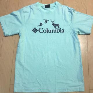 コロンビア(Columbia)のColumbia Tシャツ 青色 Lサイズ(Tシャツ/カットソー(半袖/袖なし))