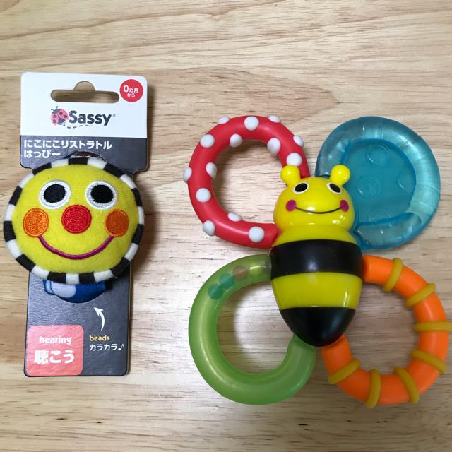 Sassy(サッシー)の赤ちゃん おもちゃ まとめ売り キッズ/ベビー/マタニティのおもちゃ(がらがら/ラトル)の商品写真