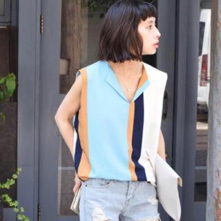 アメリヴィンテージ(Ameri VINTAGE)のアメリ トップス(シャツ/ブラウス(半袖/袖なし))