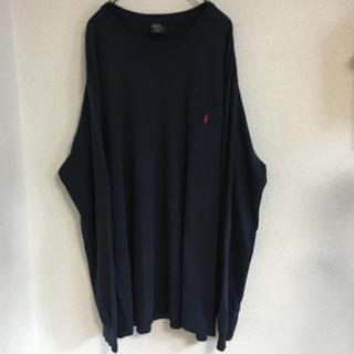 ラルフローレン(Ralph Lauren)の90s Ralph Lauren【ラルフローレン】ワンポイントポケットロンT!(Tシャツ/カットソー(七分/長袖))