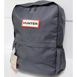 ハンター(HUNTER)の【新品・タグ付き】HUNTER ナイロン ラージ バックパック ネイビー(バッグパック/リュック)