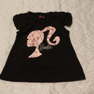 バービー(Barbie)のバービー肩リボン95センチ(Tシャツ/カットソー)
