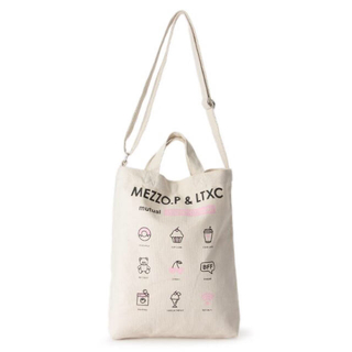 ラブトキシック(lovetoxic)のメゾピアノ×ラブトキシック  トートバッグ ショルダーバッグ 新品 タグ付(トートバッグ)