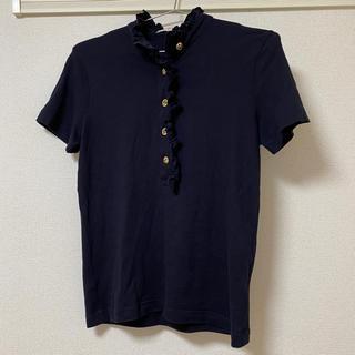 トリーバーチ(Tory Burch)のTORY BURCH ノーカラーポロシャツ(ポロシャツ)