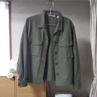 ユニクロ(UNIQLO)のユニクロ  ミリタリーシャツジャケット(ミリタリージャケット)