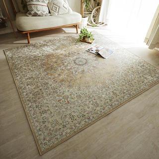 ペルシャ絨毯 ラグマット ベージュ(ラグ)