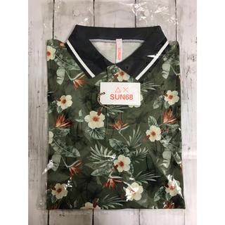 イセタン(伊勢丹)のsun68  ハワイアンプリント半袖ポロシャツ(ポロシャツ)