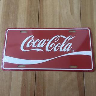 コカコーラ(コカ・コーラ)のコカコーラ ナンバープレート風プレート(その他)