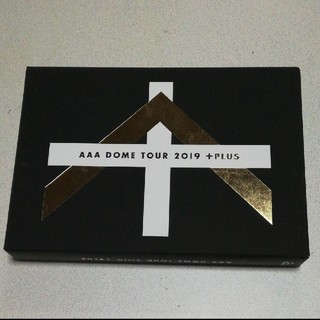 トリプルエー(AAA)のAAA DOME TOUR 2019 +PLUS(初回生産限定) DVD(ミュージック)
