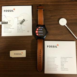 フォッシル(FOSSIL)の【週末限定】FOSSIL フォッシル スマートウォッチ 革ベルト (腕時計(デジタル))