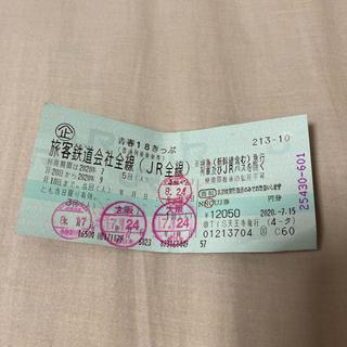 青春18きっぷ 残1回 青春18切符(鉄道乗車券)