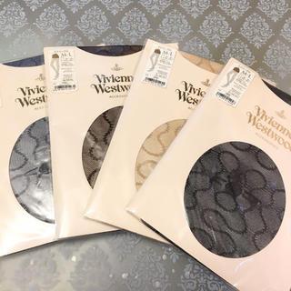 ヴィヴィアンウエストウッド(Vivienne Westwood)の新品 Vivienne Westwood スクイグル ストッキング(タイツ/ストッキング)