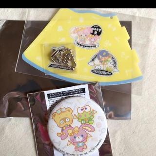 ヒプノシスマイク  サンリオ 特典 缶バッチ セット 渋谷 ポッセ(キャラクターグッズ)