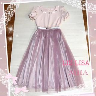 リズリサ(LIZ LISA)のリズリサカットソー*ミーアスカート(シャツ/ブラウス(半袖/袖なし))