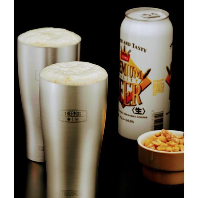 THERMOS(サーモス)のビールハイボールに早い者勝ちベストセラーサーモス真空断熱タンブラー600ml2個 インテリア/住まい/日用品のキッチン/食器(タンブラー)の商品写真