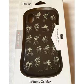 ミッキーマウス(ミッキーマウス)のディズニーキャラクターiPhoneXsMaxハイブリッドガラスケース(ミッキーマ(iPhoneケース)
