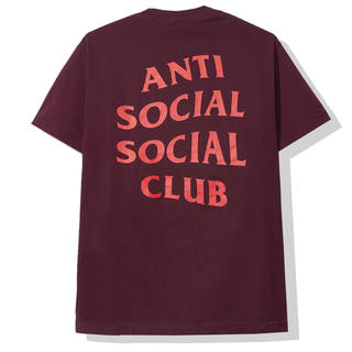 シュプリーム(Supreme)のAnti Social Social Club Seoul Maroon Tee(Tシャツ/カットソー(半袖/袖なし))