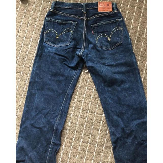 SAMURAI JEANS(サムライジーンズ)のサムライジーンズ 太閤 S510OG 16ozAK 16周年記念 本藍 柿渋 メンズのパンツ(デニム/ジーンズ)の商品写真