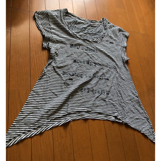 アバンリリー(Avan Lily)のAvan Liry ダメージ加工トップス(Tシャツ(半袖/袖なし))