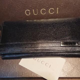 グッチ(Gucci)のJET様専用 グッチGUCCI長財布 ブラック(その他)
