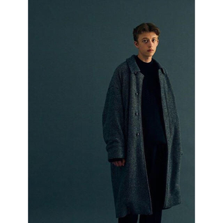 サンシー(SUNSEA)のyoke  ヨーク BALCOLLAR COAT コート(ステンカラーコート)