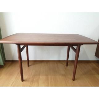 ウニコ(unico)の【最終値下げ】ウニコ NORD ダイニングテーブル W1250(ダイニングテーブル)
